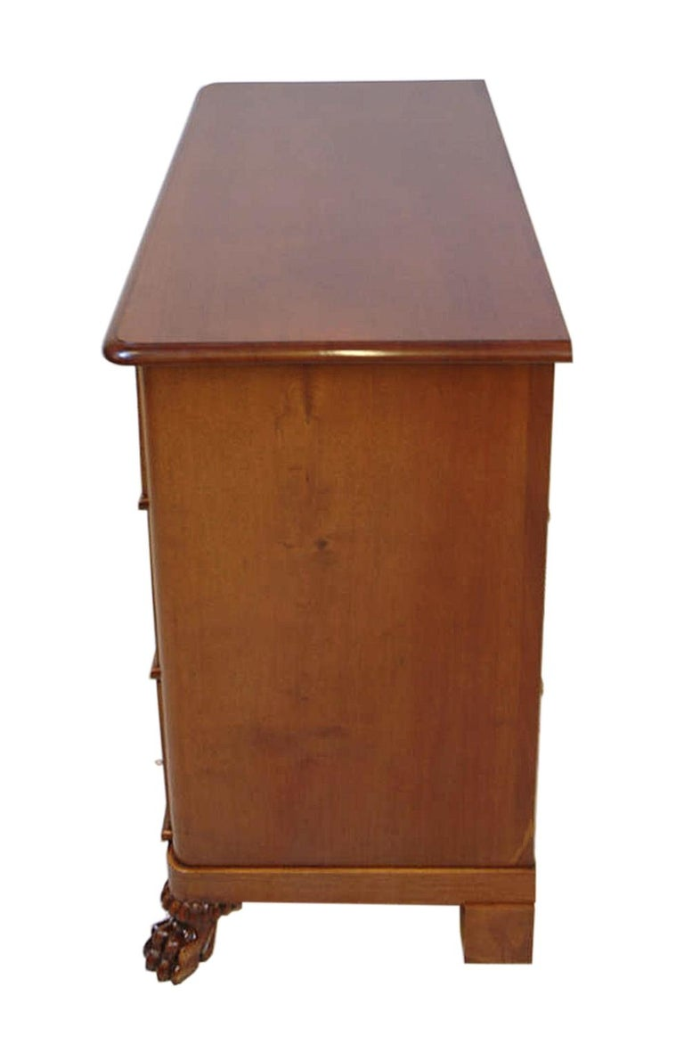 19th Century Scandinavian Empire Chest of Drawers in West Indies Mahogany 4