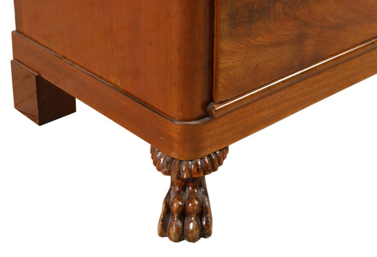 19th Century Scandinavian Empire Chest of Drawers in West Indies Mahogany 7