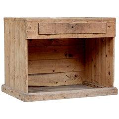 19th Century Scandinavian Pine Cobblers Bench