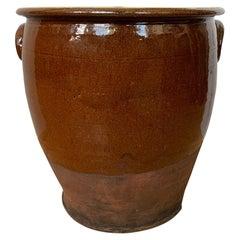19th Century Scottish Pottery Milk Vessel, Unmarked