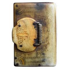 19th Century Scrimshaw Snuff Box