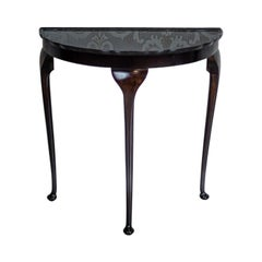 19th Century Semi-Round Wall Table-Console