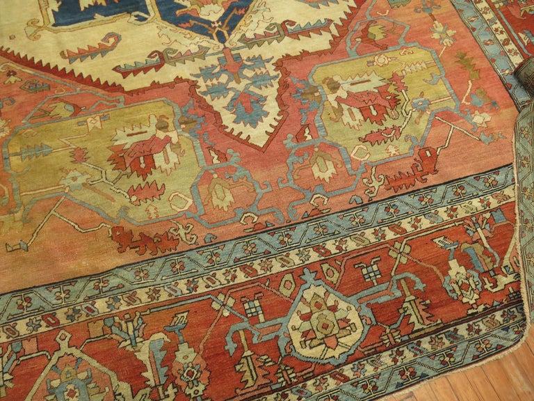 19th Century Serapi Rug For Sale 3