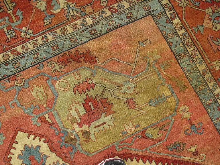 19th Century Serapi Rug For Sale 5