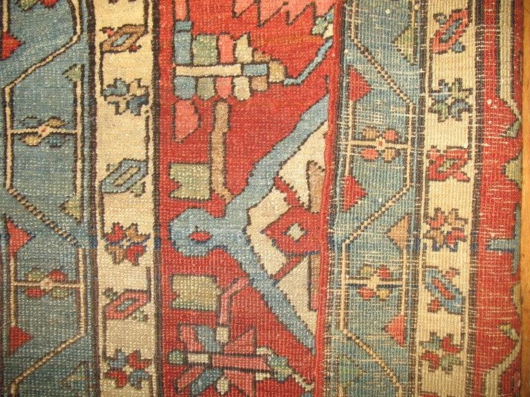 Persian 19th Century Serapi Rug For Sale