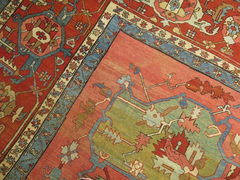 19th Century Serapi Rug For Sale 1