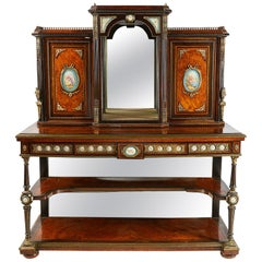 19th Century Sevres Mounted Side Cabinet