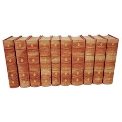 19th Century Shakespeare 10 Volumes, circa 1894
