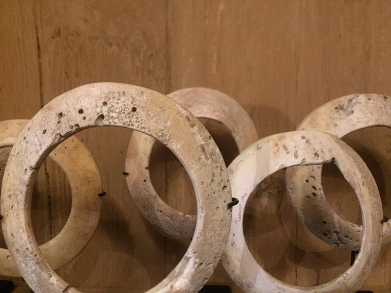 19th Century Shell Money Bracelets In Good Condition For Sale In Vosselaar, BE