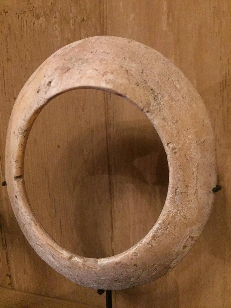 19th Century Shell Money Bracelets For Sale 4