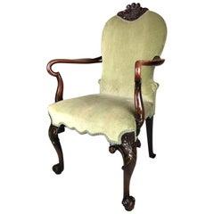 19th Century Shepherd's Crook Armchair