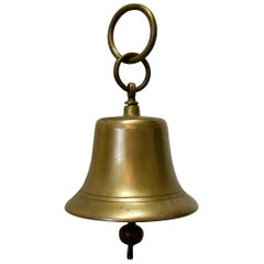 19th Century Ships Bell with Naval Broad Arrow Stamp