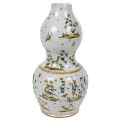 19th Century, Sicilian Double Gourd Urn