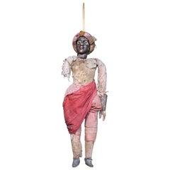19th Century Sicilian Italian Marionette Folk Art Puppet 'Opera dei Pupi'