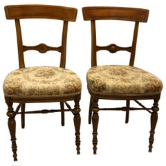 19th Century Side Chairs Attributed to Theophil Hansen