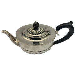 19th Century Silver Deaken and Deaken Teapot