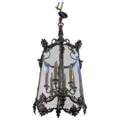 19th Century Silver Lantern from France