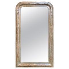 19th Century Silver Louis Philippe Mirror
