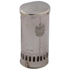 19. Jahrhundert Silberne Reiselampe