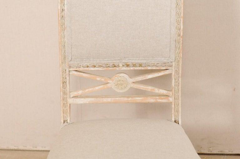 19th Century Single Swedish Gustavian Bellman Chair In Good Condition For Sale In Atlanta, GA