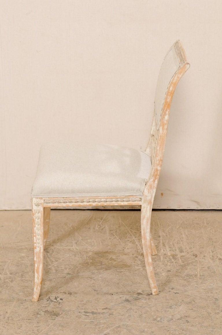 19th Century Single Swedish Gustavian Bellman Chair For Sale 1