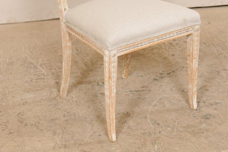 19th Century Single Swedish Gustavian Bellman Chair For Sale 4