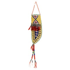 19th Century Sioux Beaded Knife Sheath