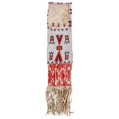 19th Century Sioux Beaded Pipe Bag