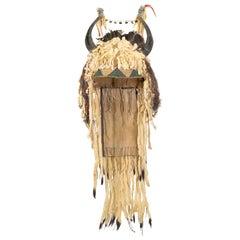 19th Century Sioux Split Horn Headdress