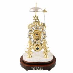 19th Century Skeleton Clock
