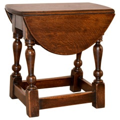 19th Century Small Drop-Leaf Table