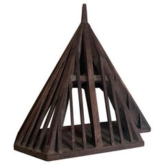 19th Century, Small Piece de Maitrise, Architectural Model Roof