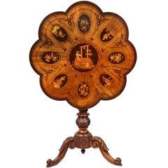 19th Century Sorrento Inlaid Table