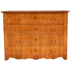 19th Century South German Biedermeier Chest of Drawers