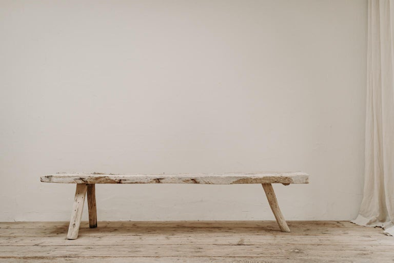19th Century Spanish Bench In Good Condition For Sale In Brecht, BE