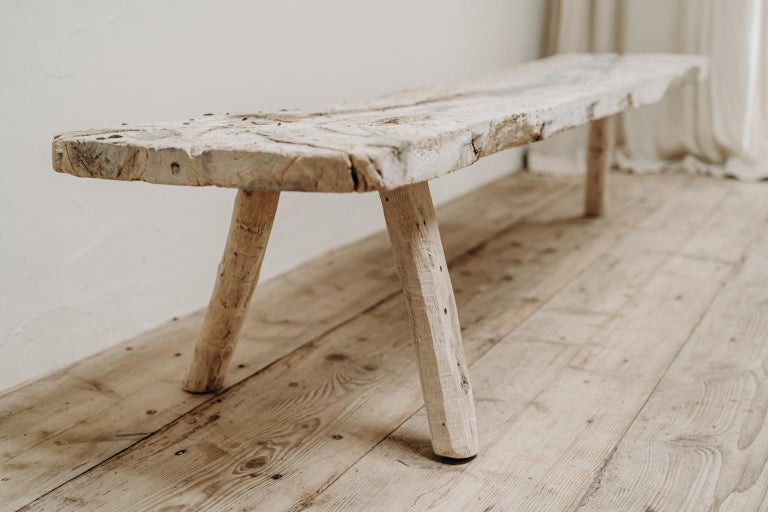 19th Century Spanish Bench For Sale 1