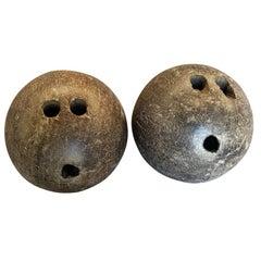 19th Century Spanish Bowling Balls