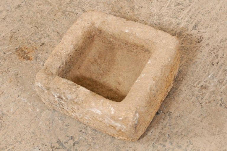 19th Century Spanish Carved Stone Trough For Sale 7