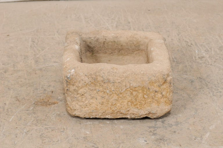 19th Century Spanish Carved Stone Trough In Good Condition For Sale In Atlanta, GA