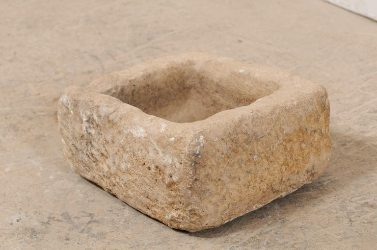 19th Century Spanish Carved Stone Trough For Sale 3