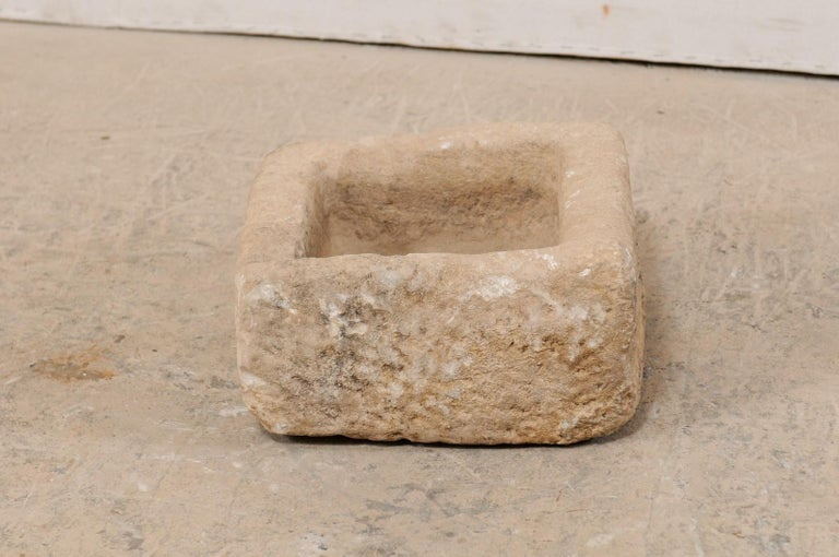 19th Century Spanish Carved Stone Trough For Sale 6