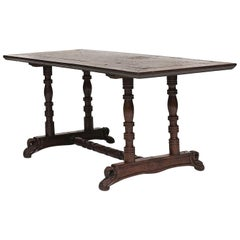 "19th Century Spanish Colony ""Baroque"" Long Table"