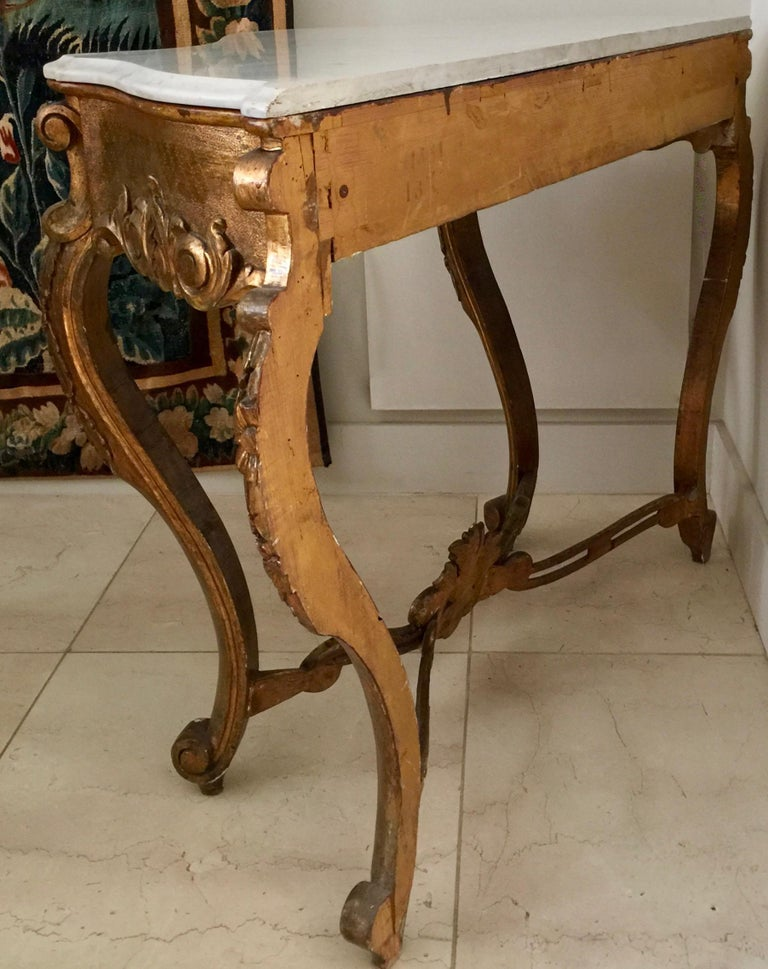 19th Century Spanish Giltwood Console For Sale 6
