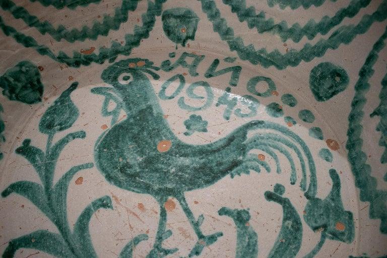 Ceramic 19th Century Spanish Granada Fajalouza