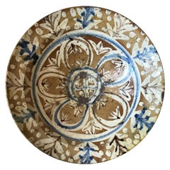 19th Century Spanish Hispano-Moresque Bowl
