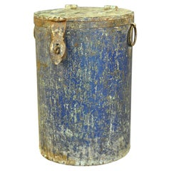 19th Century Spanish Iron Container
