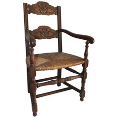 19th Century Spanish Mexican / American Armchair