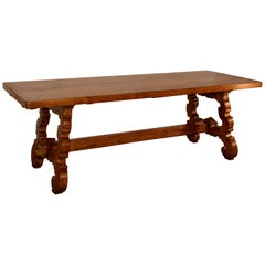 19th Century Spanish Oak Table