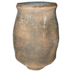 19th Century Spanish Olive Jar