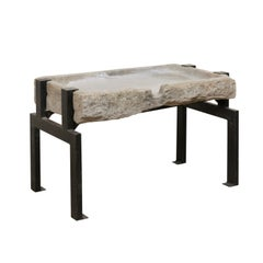 19th Century Spanish Stone Trough Coffee Table